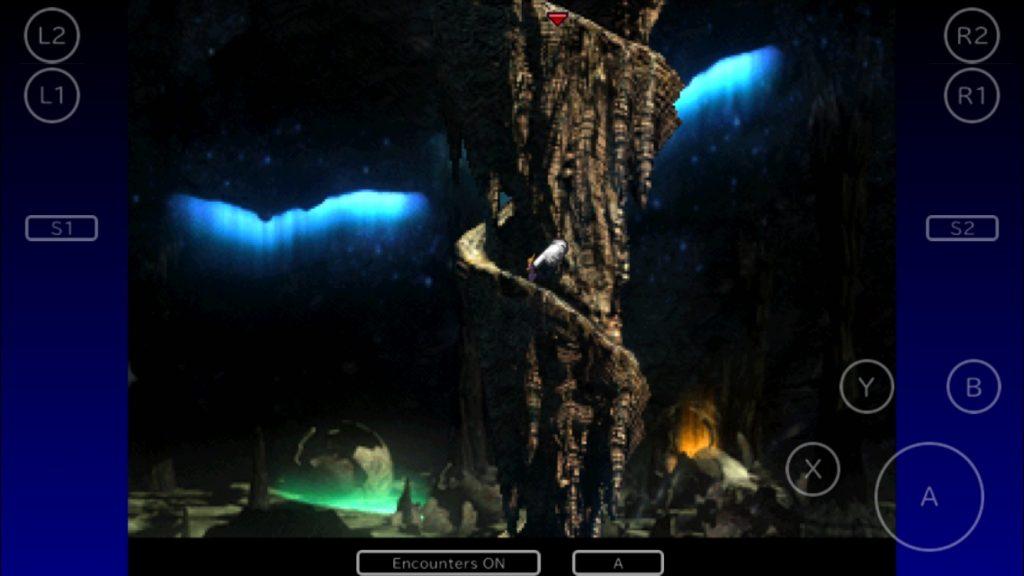 大空洞内部のドラゴンゾンビ出現場所
