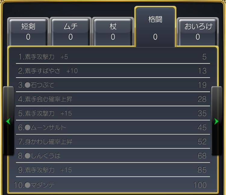 ゼシカ格闘スキル