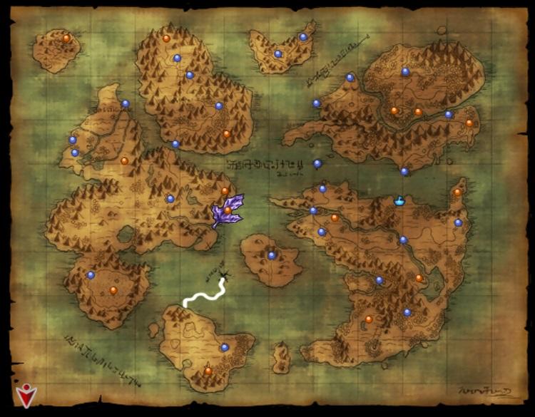地図に無い島