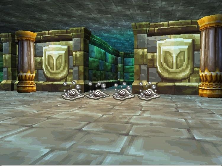 王家の墓はぐれメタル4匹