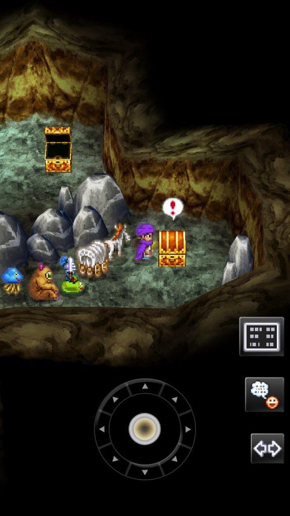 グランバニア山の洞窟すばやさのたねの場所