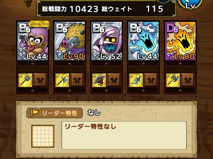 戦力10423