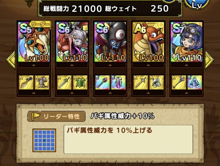 戦闘力21000